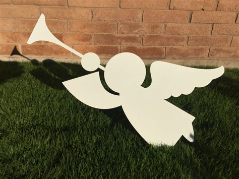 angel 18 metal yard art christmas lawn decoration