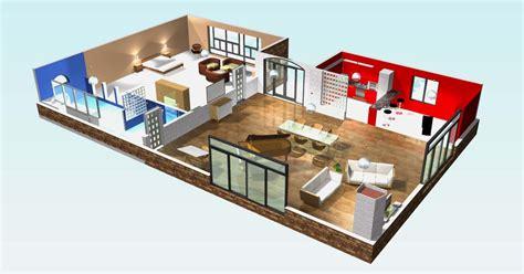 Plan De Maison Moderne 3d by Plan 3d Maison Style Americain