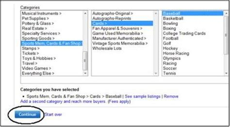 Sell Ebay Gift Card - comprehensive guide to selling sports cards on ebay