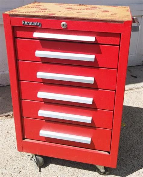 Number Drawer by Kennedy 5 Drawer Rolling Tool Cabinet Toolbox On Wheels