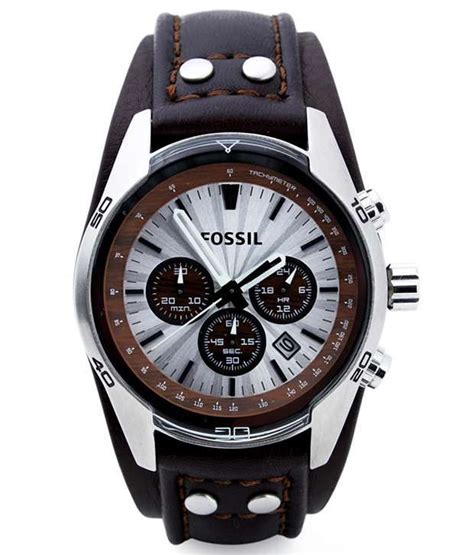 Fossil Fs0115 Brown List White fossil ch2565 s price in india buy fossil