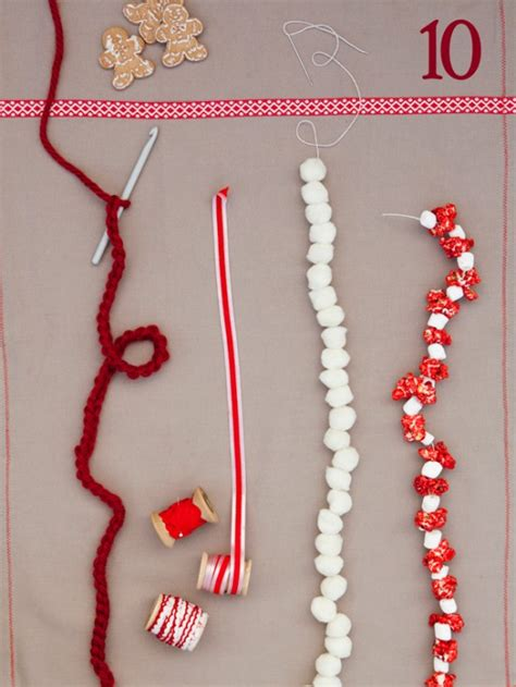garland ideas eat luv pray garland idea for christmas