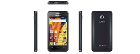 maxx mobile maxx mobile launches ax411 duo smartphone with gravity
