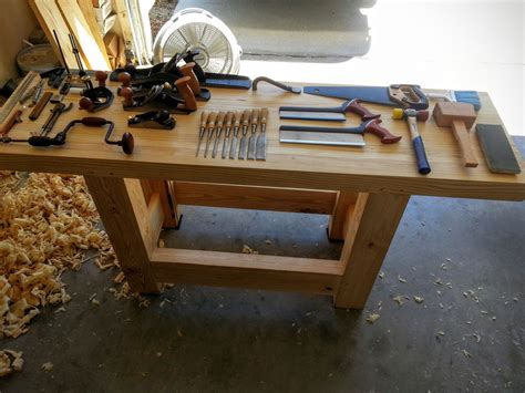 how to build work bench my workbench build hand tools only create your free
