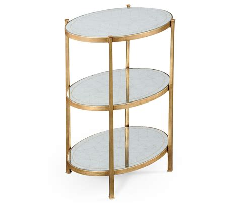 3 tier side table 3 tier table 3 tier tables mirrored side table mirrored
