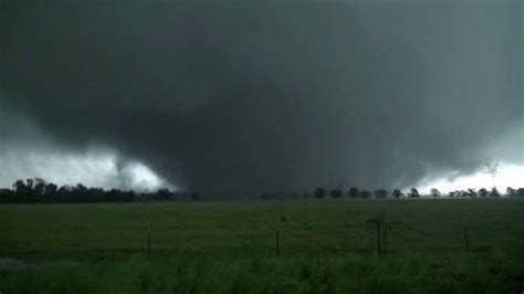 wedge tornado captured on by chaser