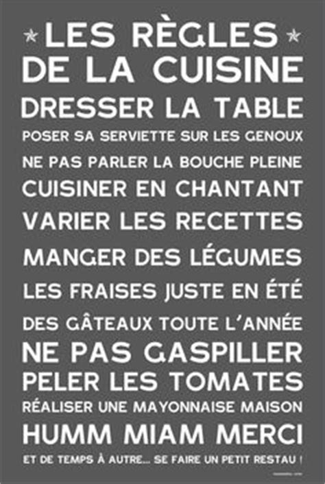 regle cuisine les r 232 gles de la cuisine le de damien
