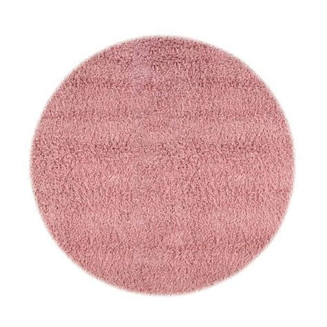 home decorators collection ultimate shag pink  ft