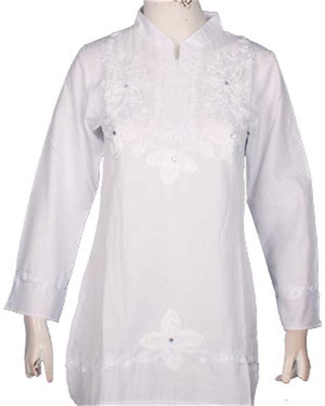 Big Size Jumbo 2l Atasan Blouse Panjang Wanita Bsfs782blp Katun baju atasan blouse wanita rangkaian kata