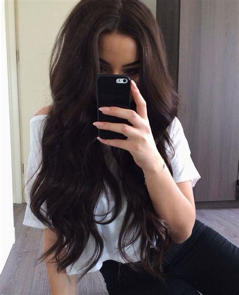 hair dye for relaxed hair beautiful the old and african best 25 dark brunette hair ideas that you will like on