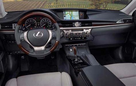 lexus es interior 2017 lexus es 350 2018 redesign review release date and