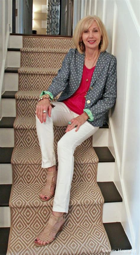 pinterest mature womens casual style fashion over 50 casual pants tops southern hospitality