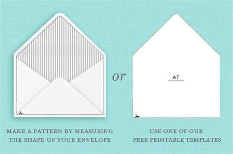 Free Envelope Liners And Templates Blush Gray Microsoft Word A7 Envelope Template