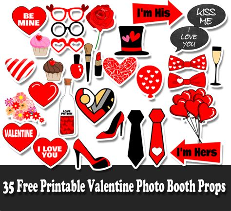 Printable Props For Photo Booth