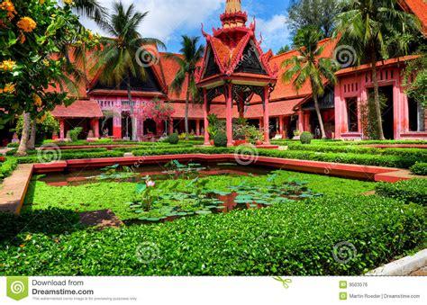 patio phnom penh garden phnom penh cambodia hdr stock photo image of