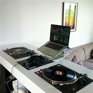 Apartment Setup Ideas Living Room Setup With Dj Table Dj Setup At Fundjstuff