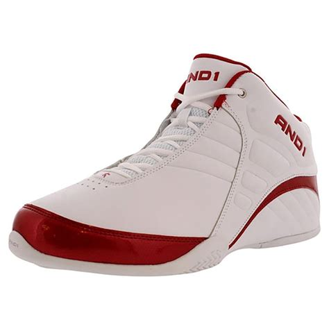 and1 and 1 mens d1051mwwr rocket 3 0 mid basketball shoes