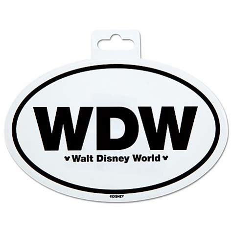 your wdw store disney car decal walt disney world car