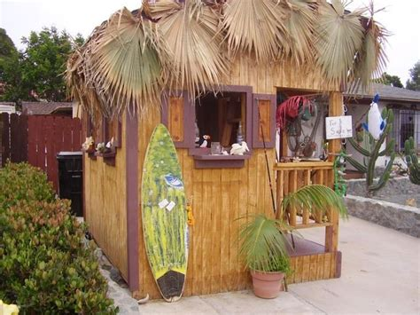 Shed Tiki Bar by The Tiki Shed Outdoor Spaces