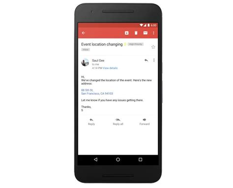 Search Gmail Address By Phone Number Gmail Now Converts Phone Numbers And Addresses To Links On