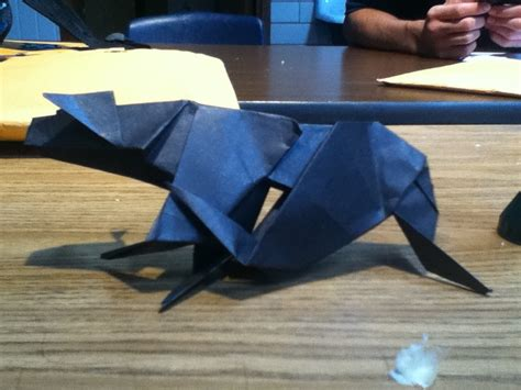 Origami Panther - origami panther by lucymidnight96 on deviantart