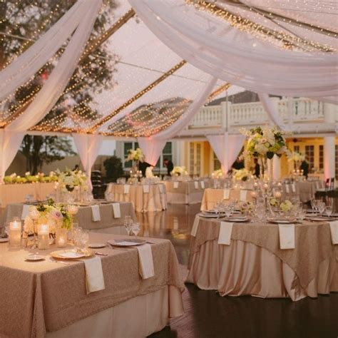 Elegant & neutral tented reception decor // Studio 222