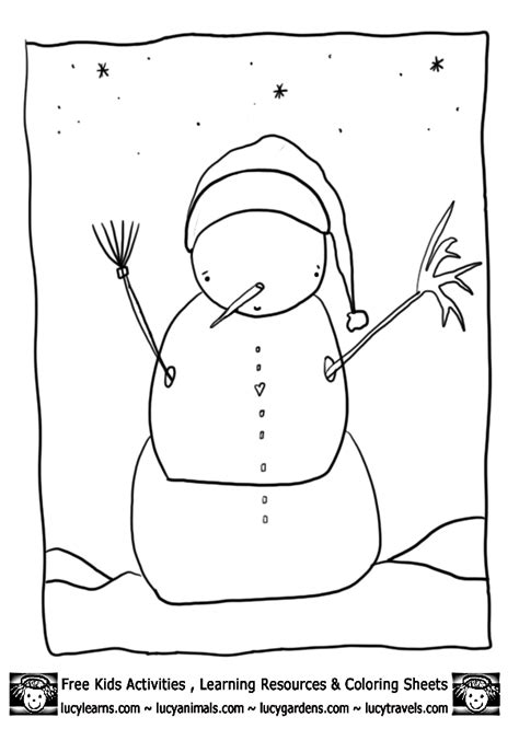 snowman coloring page pdf snowman coloring pages lucy s printable snowmen coloring