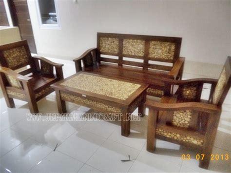 jual furniture kursi tamu minimalis antik jati jepara