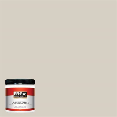 behr premium plus 8 oz bwc 24 mocha light interior exterior paint sle pp10016 the home depot