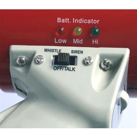 mity meg 25 watt rechargeable megaphone up to 1 mile