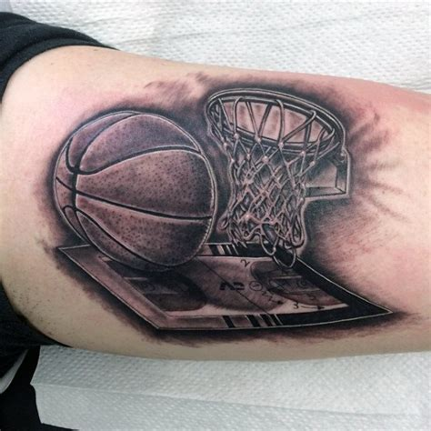 basketball tattoos for men 40 basketball tattoos for masculine design ideas