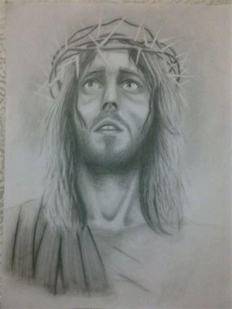 imagenes a lapiz del rostro de jesus dibujos de jesucristo a lapiz imagui