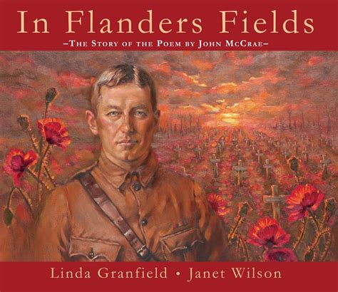 in flanders fields picture book canlit for littlecanadians the great war a world war i