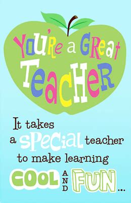 printable greeting cards on teachers day great teacher greeting card teacher appreciation day