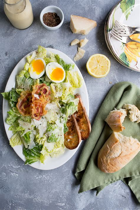 caesar salad with blue cheese and bacon recipe ina barefoot contessa caesar salad with pancetta