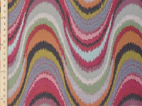 flamestitch upholstery fabric magnolia fabrics faison multi large flamestitch vibrant