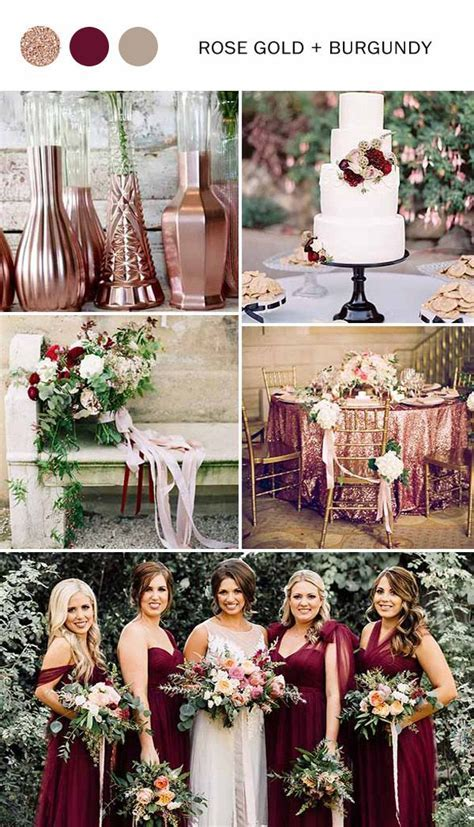 10 Fall Wedding Color Ideas You'll Love for 2017   Fall