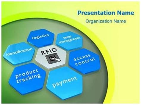 lab on a chip template rfid tag powerpoint template is one of the best powerpoint