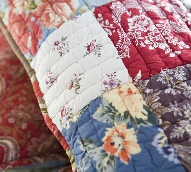Pottery Barn Providence Place pottery barn providence patchwork quilt decorating quilts pintere
