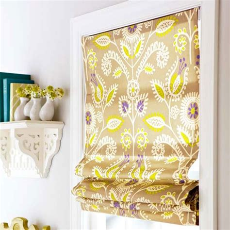 pattern fabric shades bhg centsational style