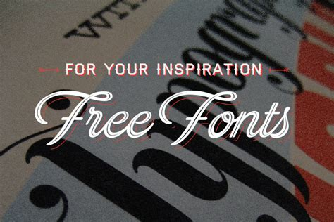 design your font 6 free fonts for your designs alt creative