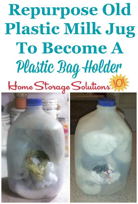 diy plastic bag holder ideas  upcycled containers
