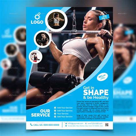 template flyer gym fitness gym flyer template v2 by aam360 graphicriver