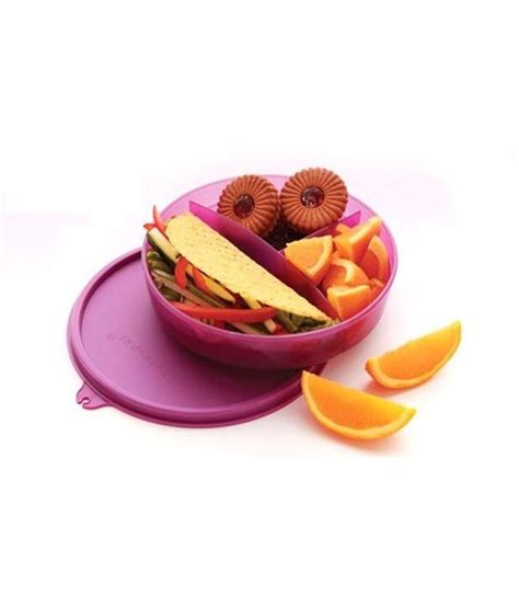 Tupperware Kiddos Lunch Set tupperware divided dish lunch box set of 2 buy at best price in india snapdeal