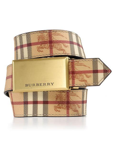 Burberry Home Decor burberry london quot barnsfield quot brushed plaque belt