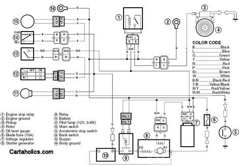 g16a golf cart wiring diagram gas yamaha
