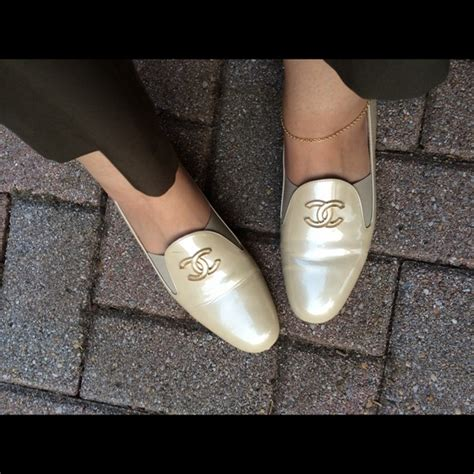 chanel loafers 2013 56 chanel shoes 100 authentic chanel beige patent