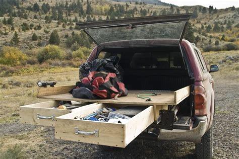 truck bed cer shells homemade pickup topper thread truck box under truck cap