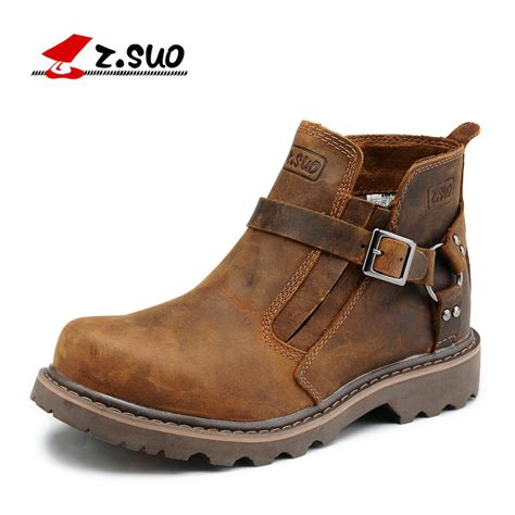 Z Suo z suo brand classic style s work boots fashion