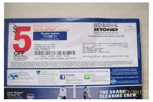 $5 off bed bath beyond coupon